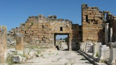 Hierapolis Kuzey Bizans Kapısı