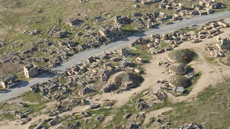 Hierapolis Nekropol Alanı