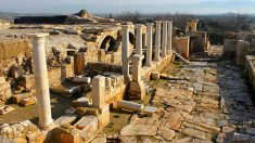 Tripolis Antik Kenti Yapılar