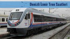 Denizli İzmir Tren Saatleri