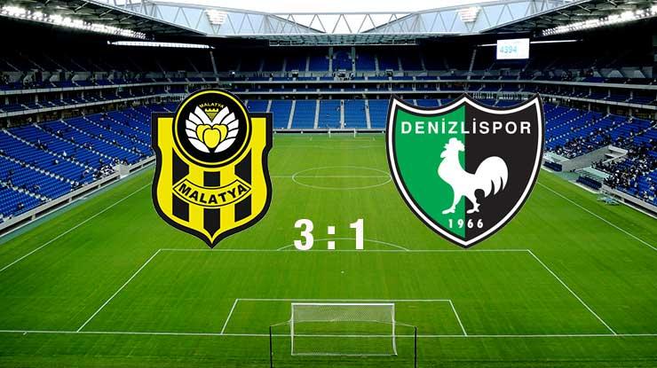 Malatyaspor:3 - Denizlispor:1